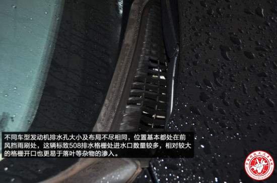 细数被你忽视的汽车排水孔
